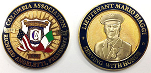 2016 COLUMBIA CHALLENGE COINS
